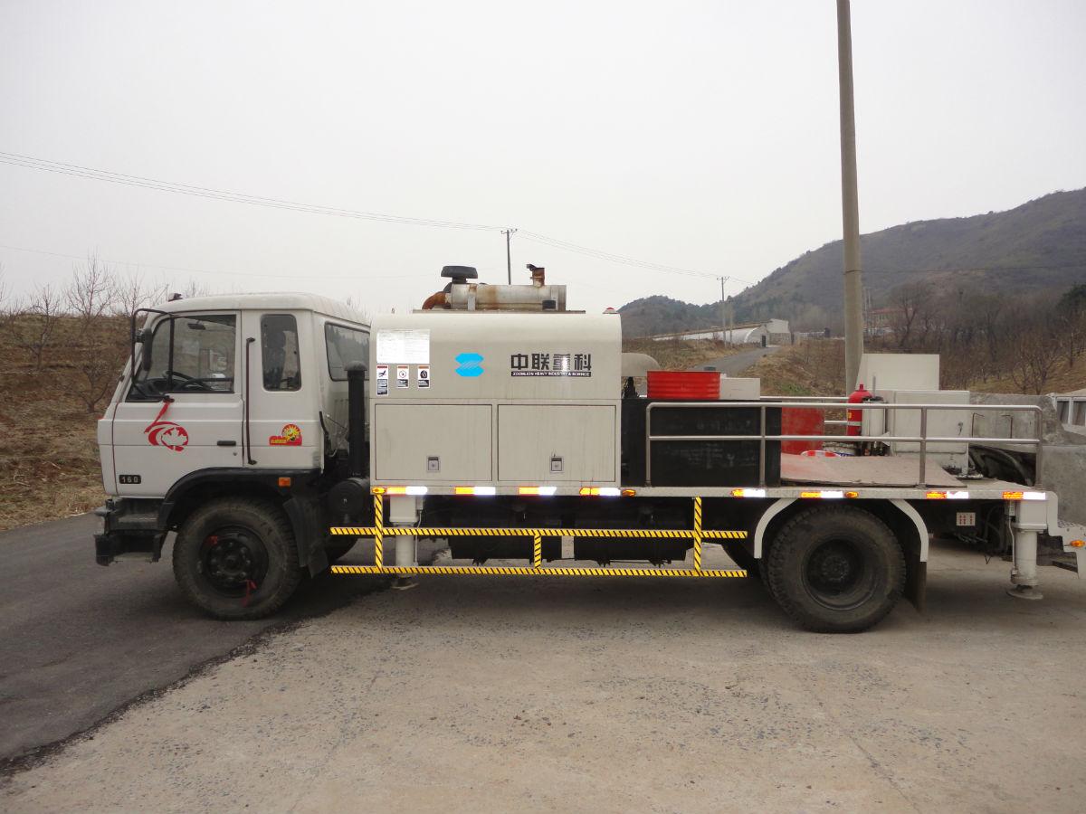 湖北省出租中联重科车载泵